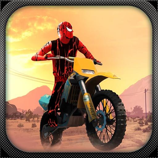 Amazing Spider Bike Rider