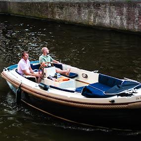Amsterdam by Jes Tan - Transportation Boats ( amsterdam )