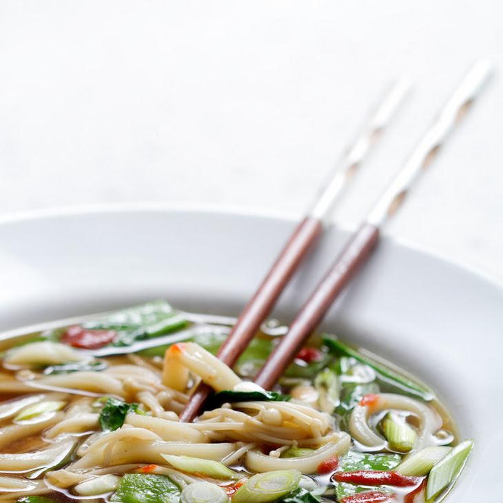 Vegetable Udon Soup