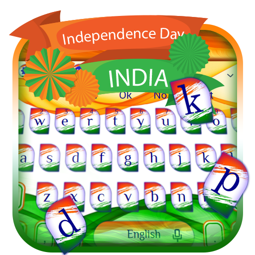 Happy Independence Day Keyboard Theme
