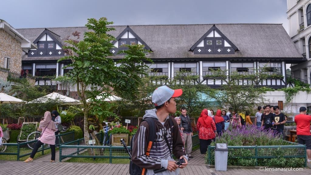 Rumah khas Eropa di Framhouse Lembang