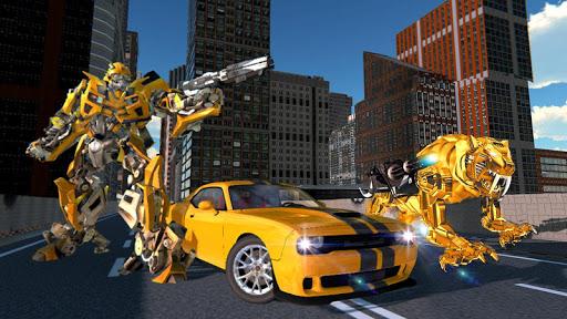 Tiger Robot Transforming Games : Robot Car Games 1.0.9 screenshots 1
