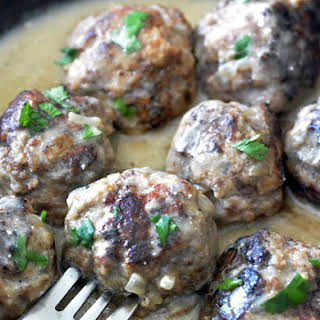 Easy Swedish Meatballs.