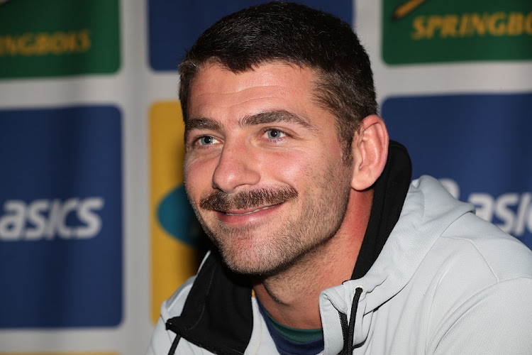 Willie le Roux at the national rugby team's media conference in Cardiff, Wales, November 20 2018. Picture: STEVE HAAG/GALLO IMAGES