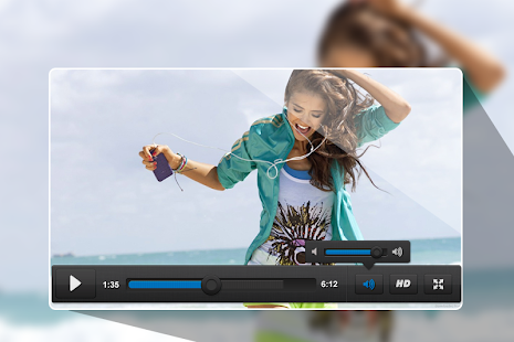 ALC Video Player - náhled