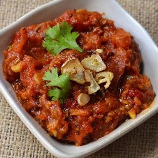 Nepali Tomato Chutney (Tomato Achar).
