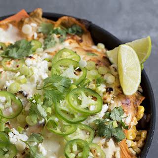 Chicken & Sweet Potato Enchiladas.
