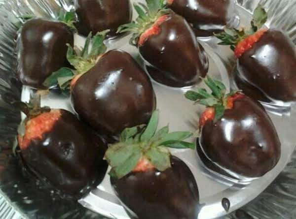 Quick Chocolate  Dipping  Glaze
