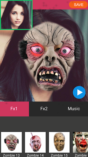 Zombie Booth Video Maker 1.2 screenshots 1