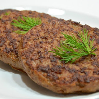 Liver Cutlets With Potatoes And Onions