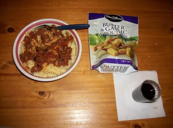Easy Spaghetti Meat Sauce Recipe