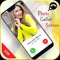 Photo caller Screen – HD Photo Caller ID icon
