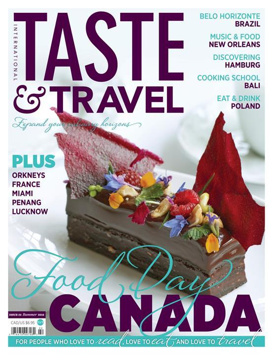 Taste & Travel International- screenshot
