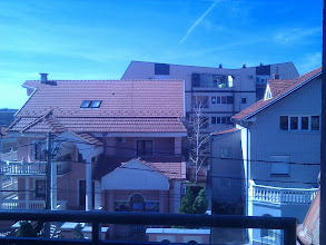 Photo: Views from the flat south of Belgrade.