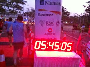Photo: Las carreras empiezan pronto en Yakarta. El pistoletazo de salida de esta en concreto era a las 05:45 a.m.