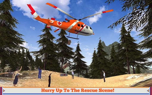 Hill Rescue Helicopter 16
