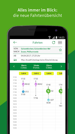 VRR App - Fahrplanauskunft  screenshots 2