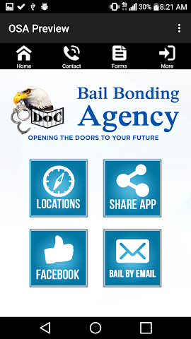 android Doc Bail Bonding Screenshot 1
