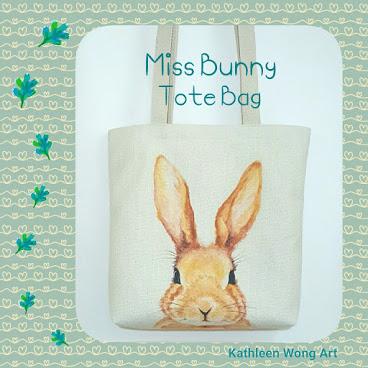 Tote Bag Miss Bunny