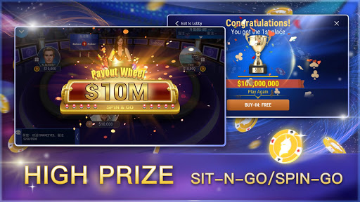 Sohoo Poker-Texas Holdem Poker 4.12.2 Mod screenshots 5