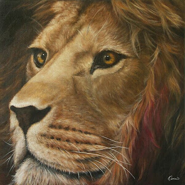 Original Painting ~ Kindness Lion