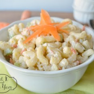 Summer Macaroni Salad.