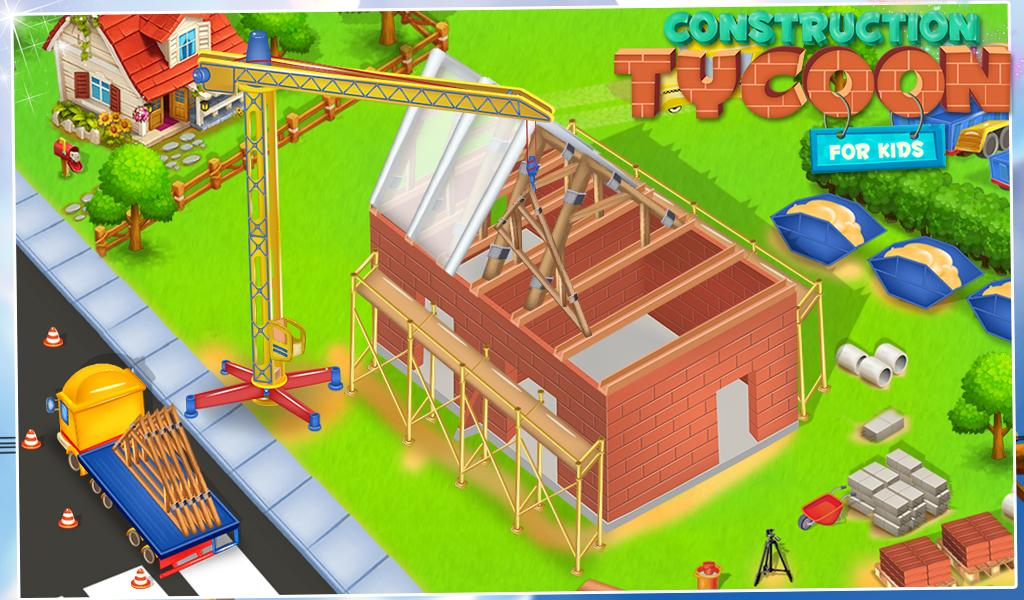 Construction Tycoon For Kids- screenshot