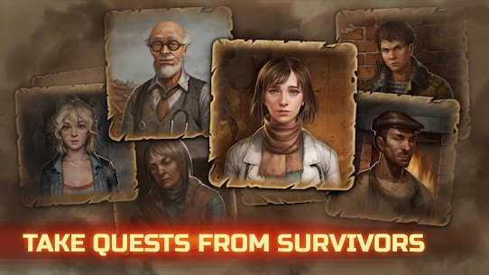 Day R Survival Premium Mod Apk 1.665 (No Ads + 1000 Caps) 5