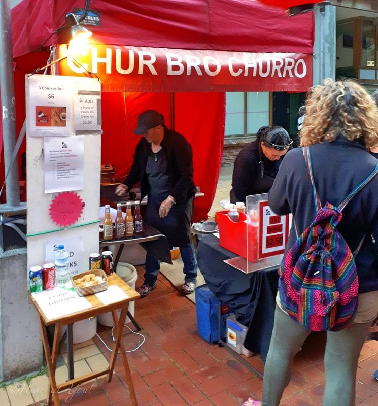 chur bro churros stall
