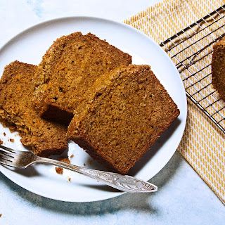 Spiced Sweet Potato Bread