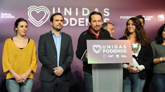 Pablo iglesias se dirige a Pedro Sánchez y su partido.