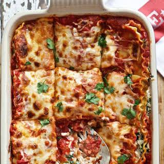 Family Favorite Vegetarian Lasagna.