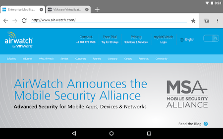 AirWatch Browser 2 8 0 2599 Apk, Free Business Application