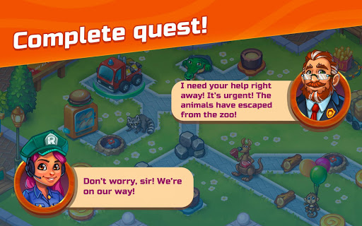 City Rescue Team: Time management game apkpoly screenshots 20