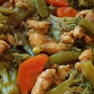 Garlic Chicken Stir Fry Recipe