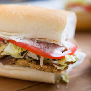 Fried Shiitake Po' Boys With New Orleans-Style Remoulade.
