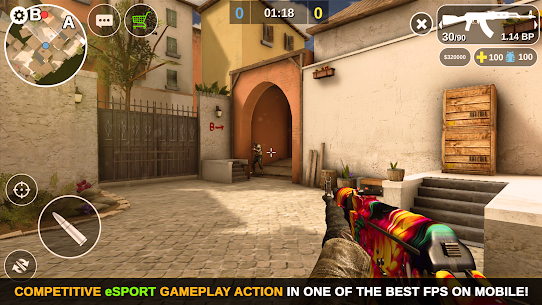 Counter Attack – Multiplayer FPS MOD (Unlimited Money) Full App+Data 1