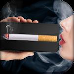 Virtual cigarette smoking Icon