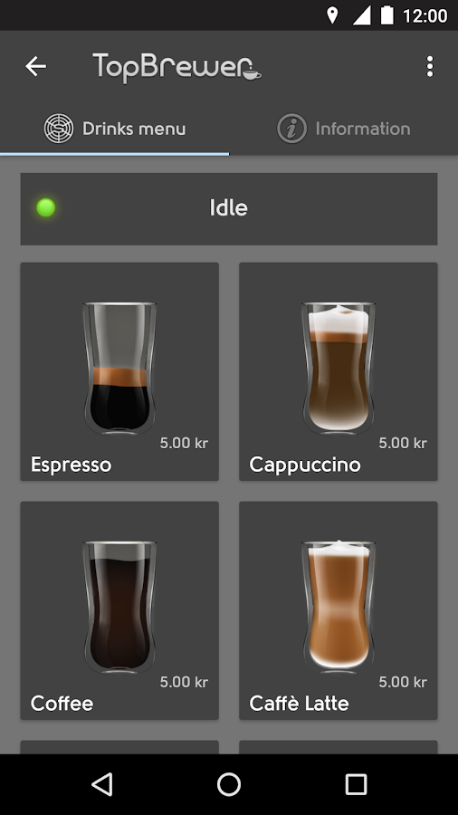 TopBrewer- screenshot