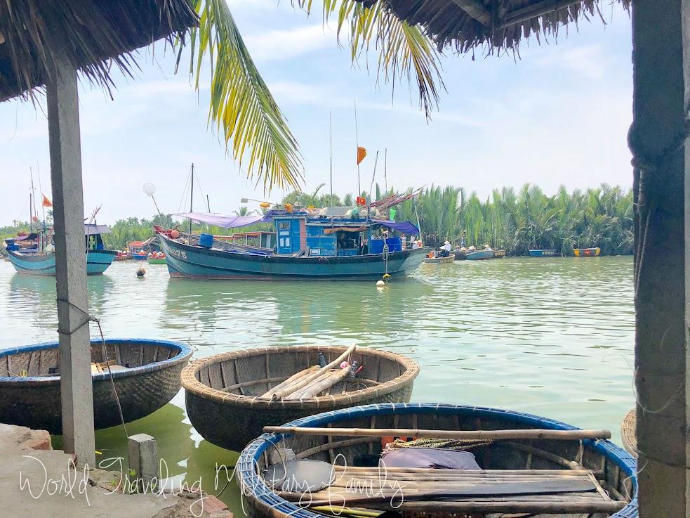 Coconut Boat Tour Hoi An, Vietnam