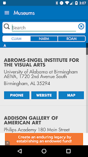 UF Harn Museum of Art- screenshot thumbnail