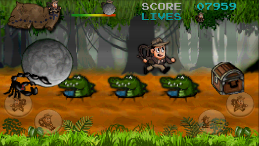 Retro Pitfall Challenge apkpoly screenshots 2