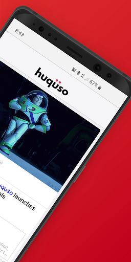 Huquso: A professional network - screenshot