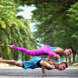 Balance by RL RL - Sports & Fitness Other Sports ( arm balance )
