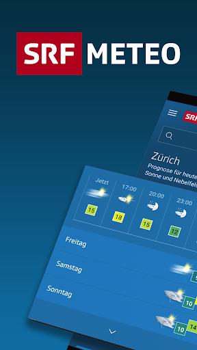 SRF Meteo - Wetter Prognose Schweiz Apk 1