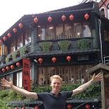 A-Mei tea house in Jiufen in Jiufen, T'ai-pei county, Taiwan