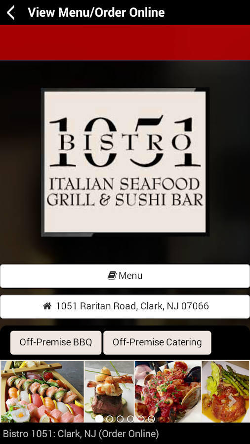 Bistro 1051 - NJ- screenshot
