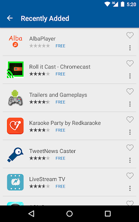 Cast Store for Chromecast Apps 0.13.2-11 screenshot 309561