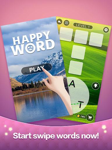Happy Word - A crossword puzzle screenshot 6