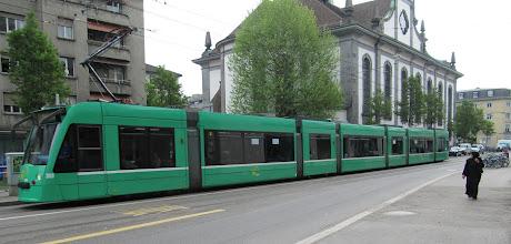 Photo: Day 30 - Tram in Basel